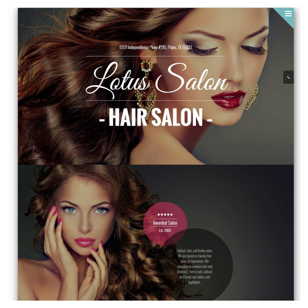 Web Design Plano - Lotus Beauty Salon And Spa Plano
